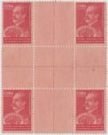 1940-282 CUBA REPUBLICA. 1940. Ed.338. GONZALO DE QUESADA CENTRO DE HOJA, CENTER OF SHEET. NO GUM. - Prephilately