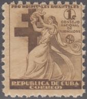 1941-169 CUBA REPUBLICA. 1941. MNH. Ed.4. SEMI POSTAL BENEFICENCIA PRO TUBERCULOSOS. - Prephilately