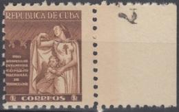 1943-89 CUBA REPUBLICA. 1943. MNH. Ed.7. SEMI POSTAL BENEFICENCIA PRO TUBERCULOSOS - Prephilately