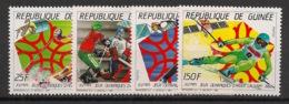 Guinée - 1987 - N°Yv. 821 à 824 - Olympics / Calgary 88 - Neuf Luxe ** / MNH / Postfrisch - Winter 1988: Calgary