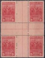 1947-204 CUBA REPUBLICA. 1946. Ed.395. 2c MARTA ABREU. CENTRO DE HOJA, CENTER OF SHEET. NO GUM. - Prephilately