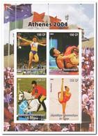 Congo 2004, Postfris MNH, Sport, Olympic Games - Democratische Republiek Congo (1997 - ...)