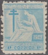1949-224 CUBA REPUBLICA. 1949. MNH. Ed.9. SEMI POSTAL BENEFICENCIA PRO TUBERCULOSOS. - Prephilately