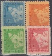 1952-418 CUBA REPUBLICA. 1952. MNH. Ed.17-20. SEMI POSTAL BENEFICENCIA PRO TUBERCULOSOS. - Prephilately