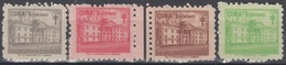 1958-373 CUBA REPUBLICA. 1958. MNH. Ed.40-43. SEMIPOSTAL PRO TUBERCULOSOS, MEDICINE. - Prephilately