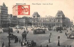 Bruxelles Schaerbeek Tramway Tram Gare Du Nord Pub Maggi Byrrh - Chemins De Fer, Gares