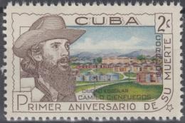 1960.273 CUBA. 1960. MNH. Ed.834. ANIVERSARIO DE CAMILO CIENFUEGOS - Prephilately