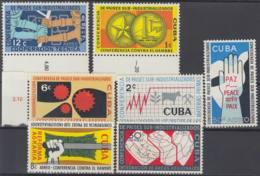 1961.131 CUBA. 1961. MNH. Ed.853-60. CONFERENCIA PAISES SUB- INDUSTRIALIZADOS. - Prephilately