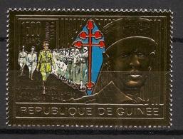 Guinée - 1991 - Poste Aérienne PA N°Yv. 250 - De Gaulle OR / GOLD - Neuf Luxe ** / MNH / Postfrisch - De Gaulle (General)