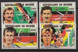 Guinée - 1991 - N°Yv. 911 à 914  - Football Italia 90 - Neuf Luxe ** / MNH / Postfrisch - Coupe Du Monde