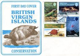 BRITISH VIRGIN ISLANDS 1979 FDC With TURTLE, LIZARD Etc.BARGAIN.!! - Tortues