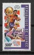 Guinée - 1992 - Poste Aérienne PA N°Yv. 268 - Football US '94 - Neuf Luxe ** / MNH / Postfrisch - Coupe Du Monde