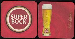 Portugal Sous Bock Beermat Coaster Bière Beer Super Bock Sabor Autêntico - Sous-bocks