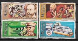 Guinée - 1992 - N°Yv. 954 à 957 - Personnages Célèbres - Neuf Luxe ** / MNH / Postfrisch - Guinée (1958-...)