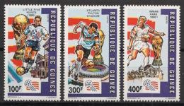 Guinée - 1992 - N°Yv. 958 à 960 - Football US '94 - Neuf Luxe ** / MNH / Postfrisch - Coupe Du Monde