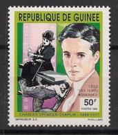 Guinée - 1992 - N°Yv. 961 - Acteurs / Charlie Chaplin - Neuf Luxe ** / MNH / Postfrisch - Acteurs