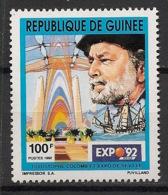 Guinée - 1992 - N°Yv. 962 - Explorateur / Chris. Colomb - Neuf Luxe ** / MNH / Postfrisch - Explorateurs