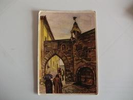 Postcard Postal Viseu Porta Dos Cavaleiros, Antiga Entrada Da Cidade - Viseu