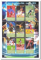Congo 2012, Postfris MNH, Sport, Olympic Games - Neufs