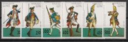 Guinée - 1997- N°Yv. 1134AD à 1134AJ - Uniformes Militaires - Neuf Luxe ** / MNH / Postfrisch - Guinée (1958-...)