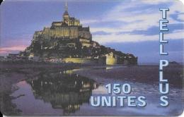 CARTE-PREPAYEE-150U-TELL PLUS-MONT ST MICHEL-Pt N°30/4/99- T BE- - France