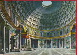 ROMA INTERIOR OF THE PANTHEON ITALY POSTCARD UNUSED - Panthéon