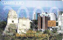 GUATEMALA - Harmonic Fusion Of Cultures, Chip GEM3.3, Used - Guatemala