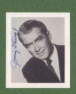 JAMES STEWART Original Signed Photo AUTOGRAPHE / AUTOGRAMM  8,5x10 Cm - Autographes