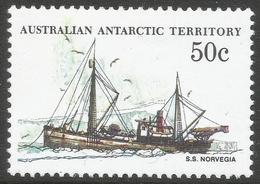 Australian Antarctic Territory. 1979 Ships. 50c MH. SG 50 - Unused Stamps