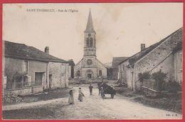 Saint Thiébault. Rue De L'église. Haute Marne (52). Carte Animée. - France