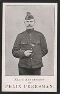 GEB.TE WAESMUNSTER  OORLOGSLACHTOFFER 1917 FELIX PEERSMAN. - Religion & Esotericism