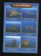 (56) : Les Iles : De Groix, Belle Ile, D'Houat, De Hoëdic, Aux Moines Et D'Arz - France