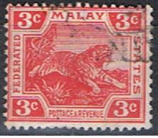 (MAY 2) MALAY // YVERT 43 // 1906-22 - Federated Malay States