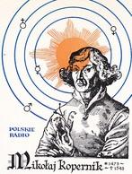QSL-Karte Polskie Radio - Mikolaj Kopernik - Kopernikus - 1973 (40603) - Radio