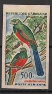 Gabon - 1963 - PA N°Yv. 16 - Bird - Non Dentelé / Imperf. - Neuf ** / MNH / Postfrisch - Parrots