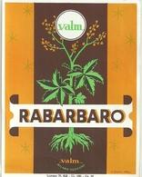 """3374 """" RABARBARO VALM-MILANO-CODOGNO """" ETICHETTA ORIGINALE - Labels"""