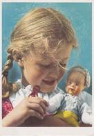 AK Blondes Mädchen Mit Puppe (40604) - Abbildungen