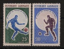Gabon - 1966 - N°Yv. 194 à 195 - Football World Cup England - Neuf Luxe ** / MNH / Postfrisch - Coupe Du Monde