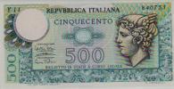 Italy P.94 500  Lire 1974  Unc - 500 Lire