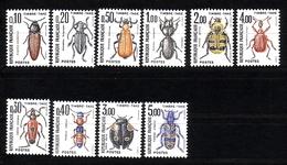 FRANKREICH MI-NR. 106-115 ** PORTOMARKEN - KÄFER - Portomarken