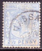 BAHAMAS 1912 SG #84 2½d Deep Dull Blue Used Wmk Mult.Crown CA CV £42 - 1859-1963 Crown Colony