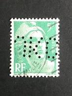 FRANCE J N° 809 JKC 63 Indice 5 Marianne De Gandon Perforé Perforés Perfins Perfin Tres Bien !! - Francia