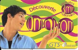 CARTE-PREPAYEE-OMNICOM-3Mn Gratuit-HOMME-FRANCE-31/08/2000-NON GRATTE-TBE - Francia