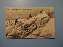 Glaciers Du Mont - Blanc - Traversée Dangereuse  1914 (5112) - Chamonix-Mont-Blanc