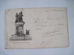 CPA  02 LAON Monument Des Trois Instituteurs 1901 Dos Simple  TBE - Laon