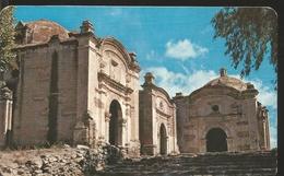 J) 1972 MEXICO, THE EXTERIOR OF THE CALVARY, TEHUACAN, PUEBLA,  POSTAL STATIONARY - Mexico