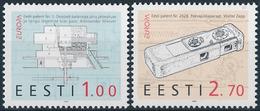 Mi 233-34 MNH ** CEPT Europa Inventions - Estonia Estland Estonie Eesti - Estonia
