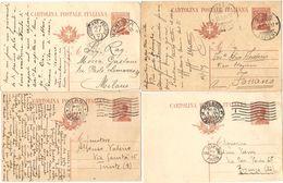 R986) V.E.III 1923 CARTOLINA POSTALE 30 CENT. MICHETTI LOTTO VIAGGIATE - 1900-44 Vittorio Emanuele III