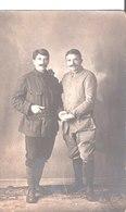 Photo Soldats De La Part De Oscar Dernoncourt à Son Frère Alphée. Paris 9 Septembre 1916. - Guerra 1914-18