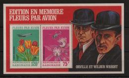 Gabon - 1971 - Bloc Feuillet BF N°Yv. 18 - Fleurs Par Avion - Neuf Luxe ** / MNH / Postfrisch - Flora